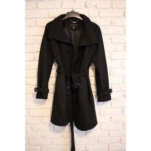 Worthington Winter Wool Trench Coat